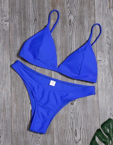 """Mėlynos Spalvos Bikinis ,,Solidar"""""""