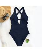 "Womens One Piece Body Suit ,,Dark Blue"""